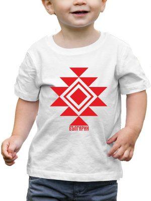 Бебешка тениска КАНАТИЦА бяла 2