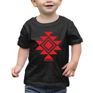 Бебешка тениска КАНАТИЦА черна