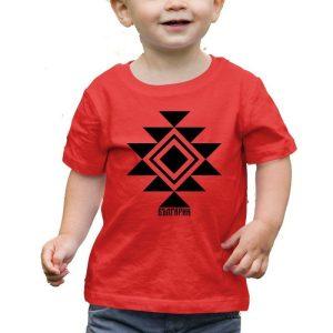 Бебешка тениска КАНАТИЦА червена