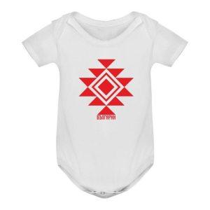 Бебешко боди КАНАТИЦА бяло 2