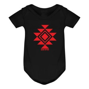 Бебешко боди КАНАТИЦА черно