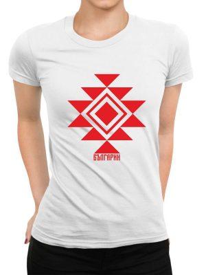 Дамска тениска КАНАТИЦА бяла 2