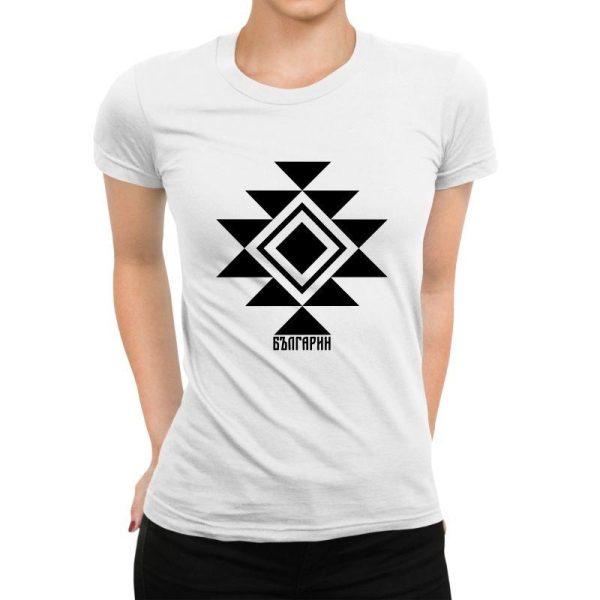 Дамска тениска КАНАТИЦА бяла 1