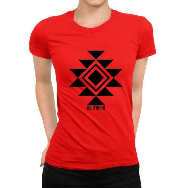 Дамска тениска КАНАТИЦА червена
