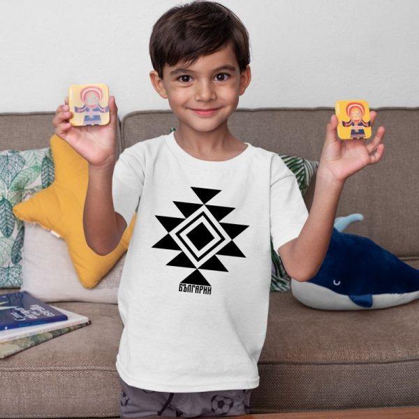Детска тениска КАНАТИЦА бяла 1 1