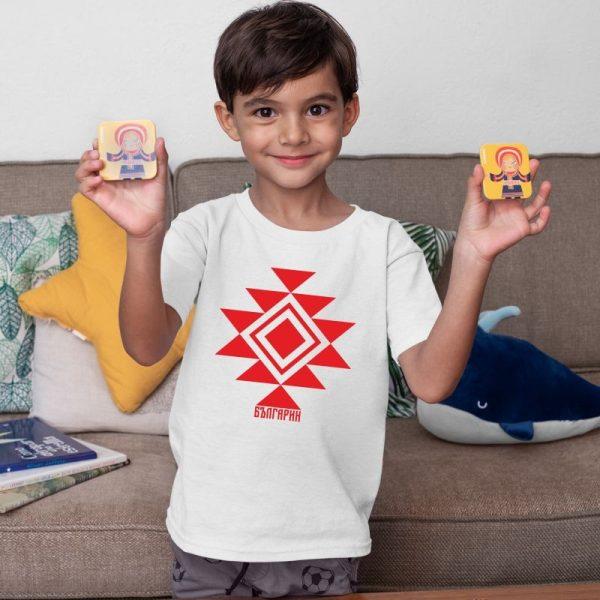 Детска тениска КАНАТИЦА бяла 2 1