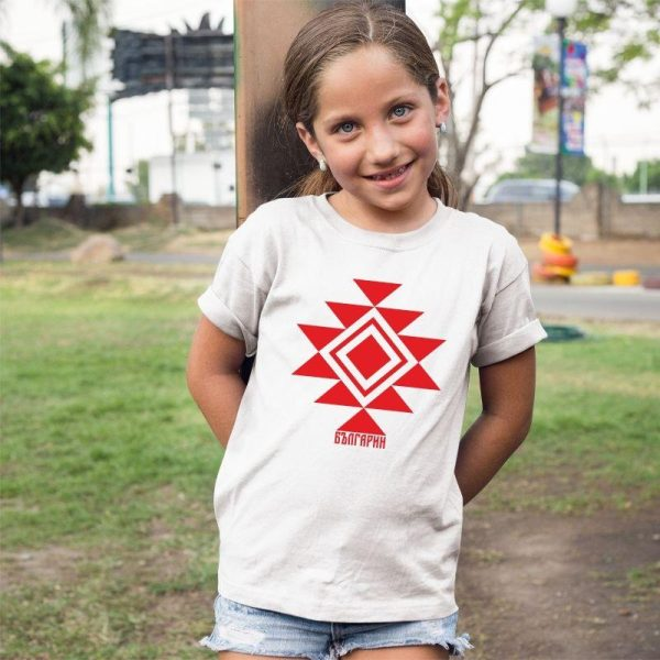 Детска тениска КАНАТИЦА бяла 2