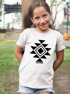 Детска тениска КАНАТИЦА бяла 1