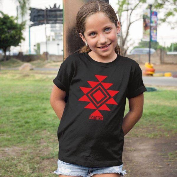 Детска тениска КАНАТИЦА черна