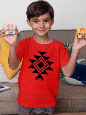 Детска тениска КАНАТИЦА червена 2