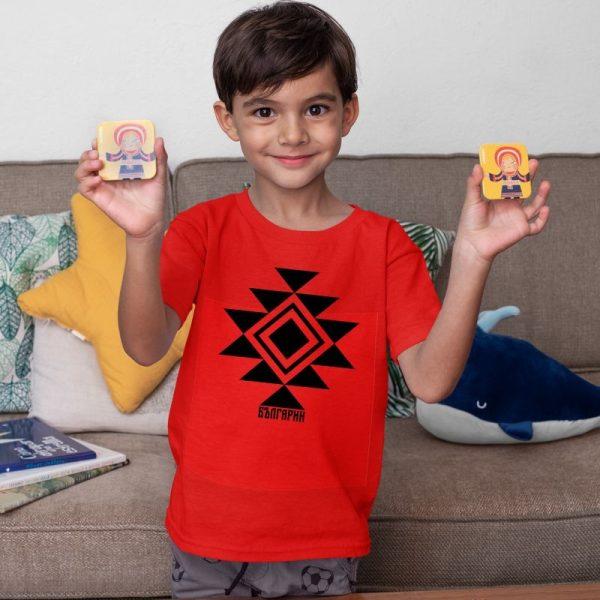 Детска тениска КАНАТИЦА червена 1