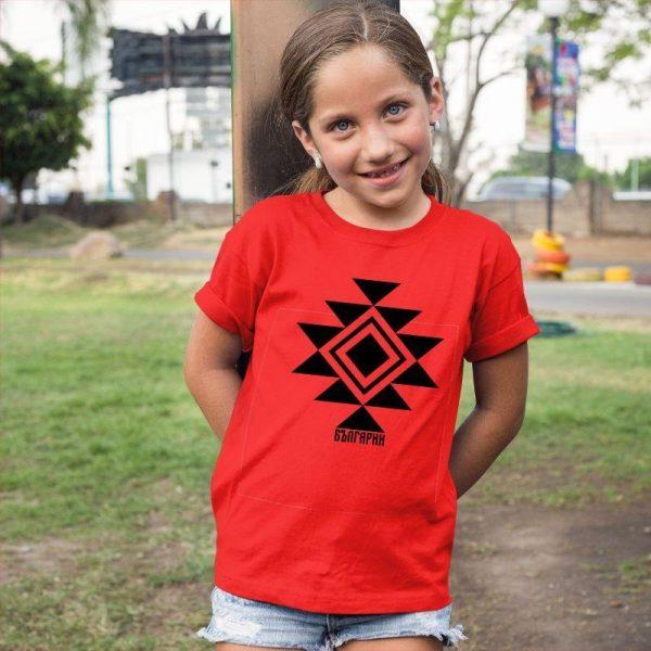 Детска тениска КАНАТИЦА червена