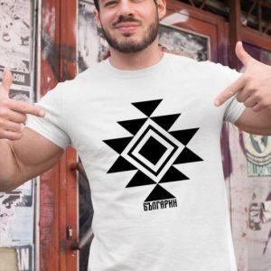Мъжка тениска КАНАТИЦА бяла 1