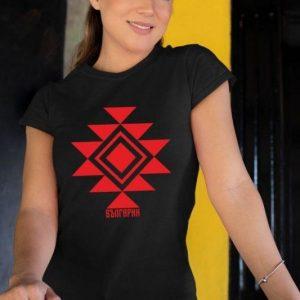 Дамска тениска КАНАТИЦА черна