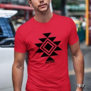Мъжка тениска КАНАТИЦА червена
