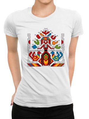 Дамска тениска Шевица 03
