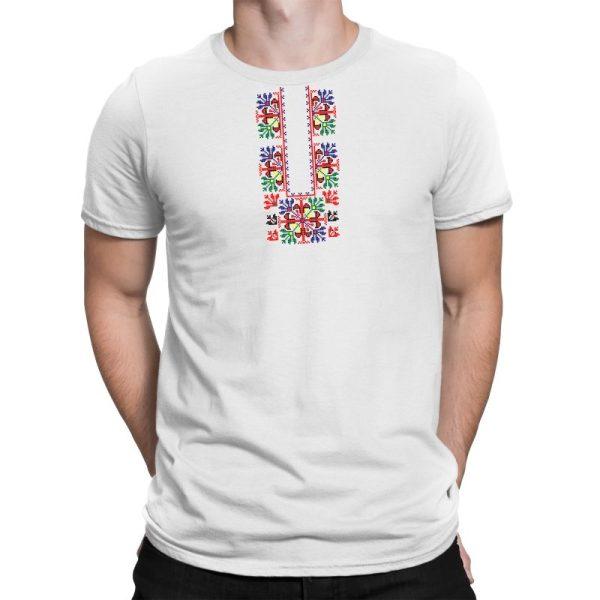 Мъжка тениска Шевица - пазва, размер M