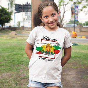Детска тениска БЪЛГАРСКИ СИМВОЛИ - Знаме