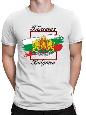 Мъжка тениска БЪЛГАРСКИ СИМВОЛИ - Знаме