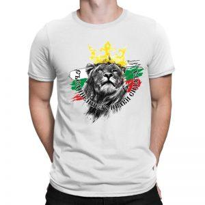 Мъжка тениска БЪЛГАРСКИ СИМВОЛИ - Съединението прави силата